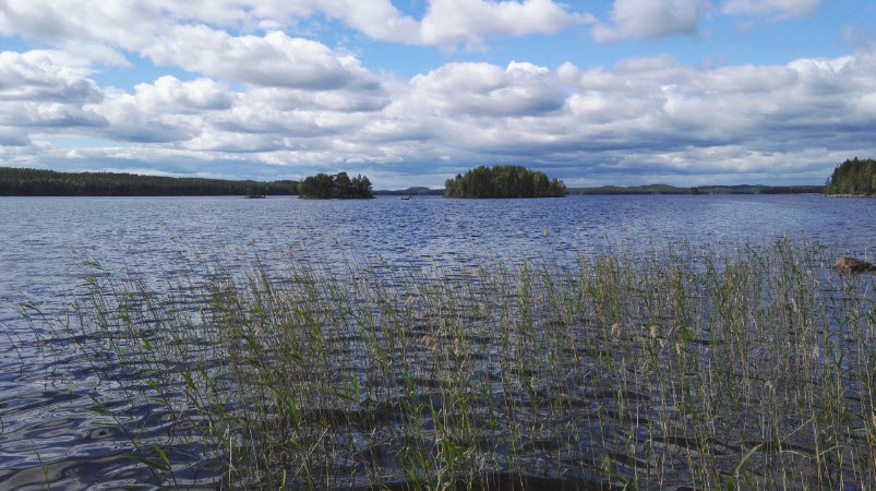 финские озера