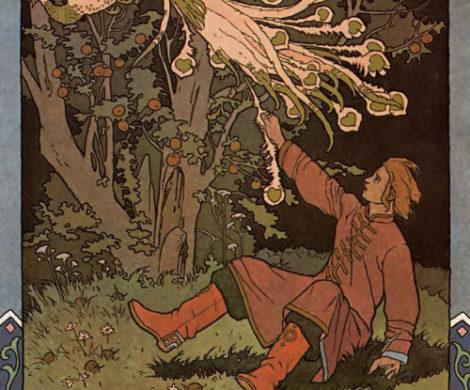 Иллюстрация к сказке «Иван-царевич и Серый Волк